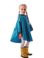 cheap -Polyester Girls' High quality, formaldehyde free / Recyclable / No smell Rain Coat