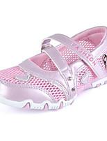 Недорогие -Девочки Обувь Полиуретан Лето Удобная обувь Мокасины и Свитер для Лиловый / Красный / Розовый