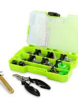 abordables -Métal + Plastique Fermetures Outils Boîtes à outils