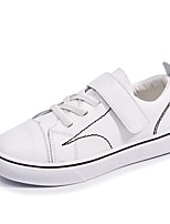 cheap -Boys' / Girls' Shoes Synthetic Microfiber PU Spring & Summer Comfort Sneakers for Kids White / Black