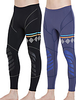 cheap -Men's Wetsuit Pants 1.5mm CR Neoprene Tights / Bottoms Ultraviolet Resistant Outdoor Exercise / Diving / Boating / Wakesurfing Solid