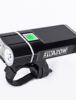 cheap -360° Rotation - Cycling Portable / Adjustable / Waterproof Lithium Battery 2400lm Lumens Cycling / Bike - WOSAWE