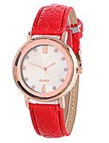 Недорогие -Xu™ Жен. Наручные часы Китайский Творчество / Повседневные часы / Крупный циферблат PU Группа Мода / минималист Черный / Белый / Синий