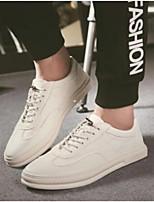 economico -Per uomo Scarpe PU (Poliuretano) Estate Comoda Sneakers Bianco / Nero