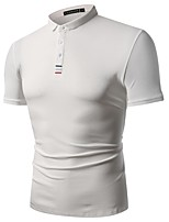 cheap -Men's Polo - Solid Colored / Color Block Embroidered