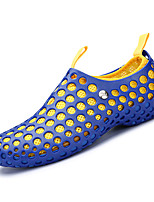 cheap -Men's Shoes Synthetic Microfiber PU Spring Winter Comfort Loafers & Slip-Ons for Casual Black Yellow Blue Black / Red