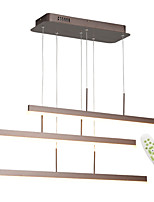 cheap -OYLYW 3-Light Linear Chandelier Ambient Light - Dimmable, 110-120V / 220-240V, Dimmable With Remote Control, LED Light Source Included