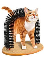 Недорогие -Коты Уход Расчески Сохраняет тепло Массаж Черный