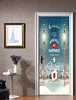cheap -Decorative Wall Stickers / Door Stickers - Plane Wall Stickers / Holiday Wall Stickers Shapes / 3D Living Room / Bedroom