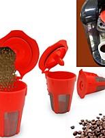 cheap -Stainless Steel / Plastic Creative Kitchen Gadget 2pcs Tea Strainer