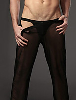 cheap -Men's Boxers Underwear Solid Colored Low Waist