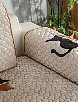 cheap -Sofa Cover Solid Colored / Geometric Reactive Print Polyester Slipcovers