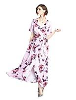 cheap -SHE IN SUN Women's Basic Sheath Dress - Geometric Print