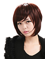 cheap -Wig Accessories Wavy Layered Haircut Natural Hairline Hot Sale New Arrival New Synthetic Red Women's Capless Celebrity Wig Party Wig