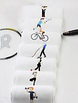 abordables -Qualité supérieure Serviette de sport, Couleur Pleine / Bande dessinée 100% Coton / Pur coton 1pcs