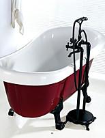 cheap -Bathtub Faucet - Antique Painting Floor Mounted Ceramic Valve