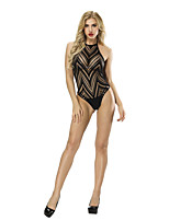 cheap -Women's Suits Nightwear - Mesh, Solid Colored / Striped