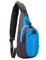 preiswerte -6L Sling Schultertasche - Leicht, Regendicht, tragbar Wandern, Camping Oxford Rot, Grün, Blau