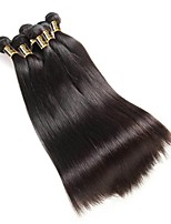 cheap -Brazilian Hair Straight One Pack Solution 6 Bundles Human Hair Weaves Extention / Hot Sale Natural Black Human Hair Extensions All