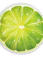 abordables -Qualité supérieure Drap de plage, Peinture / Floral / Botanique Polyester / Coton 1 pcs