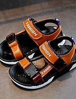 Недорогие -Мальчики Обувь Кожа Лето Удобная обувь Сандалии для Белый / Черный / Желтый