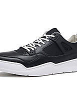 cheap -Men's Shoes PU(Polyurethane) Spring / Fall Comfort Sneakers White / Black / Red