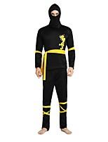 abordables -Ninja Accesorios Unisex Halloween / Dia de los Muertos / Mascarada Festival / Celebración Disfraces de Halloween Negro Un Color /