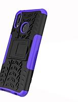 economico -Custodia Per Huawei P20 lite / P20 Pro Resistente agli urti / Con supporto / Armatura Per retro Mattonella / Armatura Resistente PC per