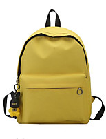 cheap -Women's Bags Oxford Cloth Backpack Zipper for Outdoor / Office & Career Blushing Pink / Yellow / Light Gray