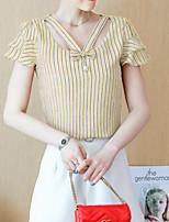 economico -blusa da donna - girocollo a righe