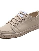 cheap -Men's Shoes Rubber Summer Comfort Sneakers Beige / Gray / Khaki