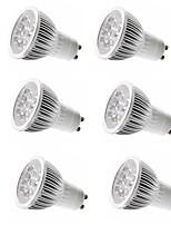 abordables -6pcs 4W 350lm E14 GU10 GU5.3 E26 / E27 Spot LED 4 Perles LED LED Haute Puissance Décorative Blanc Chaud Blanc Froid 85-265V