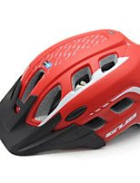 cheap -GUB® Adults Bike Helmet 19 Vents CE / CPSC Impact Resistant, Adjustable Fit, Removable Visor EPS, PC Sports Cycling / Bike - Black / Red / Blue
