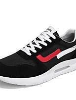 cheap -Men's Shoes Tulle Summer Comfort Sneakers White / Black