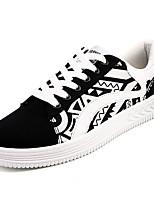 economico -Per uomo Scarpe PU (Poliuretano) Autunno Comoda Sneakers Bianco / nero / Arancione e nero