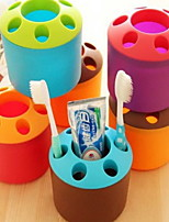 cheap -Toothbrush Mug Storage Modern / Contemporary ABS / PP 1pack Toothbrush & Accessories