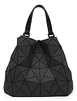 cheap -Women's Bags PU Shoulder Bag Zipper Black