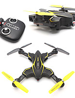 abordables -RC Drone X56W-P 4 canaux 6 Axes 2.4G 200MP 720P Quadri rotor RC Retour Automatique / Vol Rotatif De 360 Degrés Quadri rotor RC /