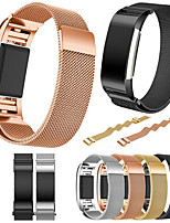 cheap -Watch Band for Fitbit Charge 2 Fitbit Milanese Loop Metal / Stainless Steel Wrist Strap