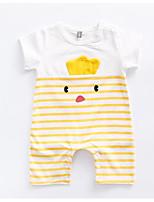 cheap -Baby Unisex Striped Short Sleeve Romper