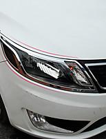 abordables -2pcs Voiture Couvertures de lumière de voiture Business Type de pâte For Lampe Frontale For Kia K2 Toutes les Années