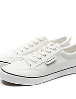 cheap -Men's Shoes Canvas Fall Light Soles Sneakers White / Black / White / Black / Red
