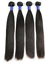 abordables -Cheveux Mongoliens Droit Tissages de cheveux humains / Extension / Extensions Naturelles Tissages de cheveux humains Vie / Sexy Lady /