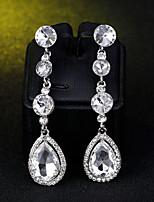 cheap -Women's Drop Earrings - Drop Simple, European, Fashion Silver For Wedding / Daily