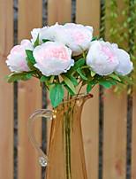 Недорогие -Искусственные Цветы 1 Филиал Деревня Пионы Букеты на стол