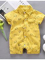 abordables -bébé Unisexe Imprimé Manches courtes Une-Pièce