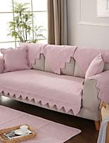 baratos -Cobertura de Sofa Sólido Fios Tingidos Algodão / Poliéster Capas de Sofa