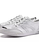 cheap -Men's Shoes PU Fall Comfort Sneakers White