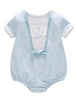 cheap -Baby Unisex Striped Short sleeves Romper