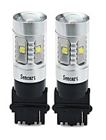 cheap -SENCART 3156 Car / Motorcycle Light Bulbs 30W SMD LED 1800-2100lm 6 LED Turn Signal Light For universal All years